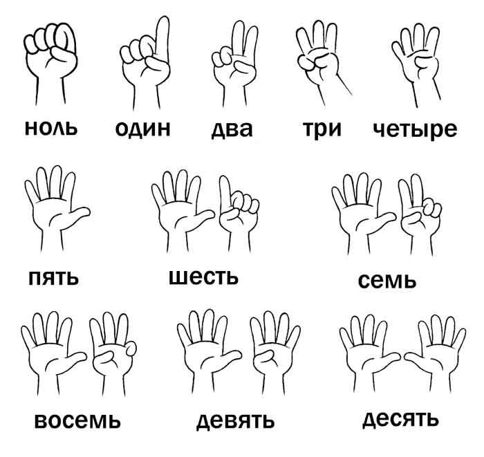 Счет на пальцах